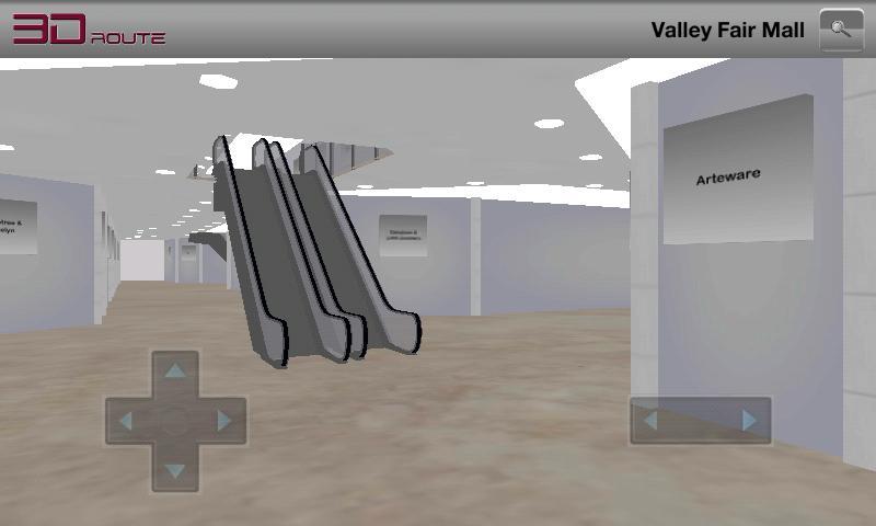 3D Route System BETA - screenshot