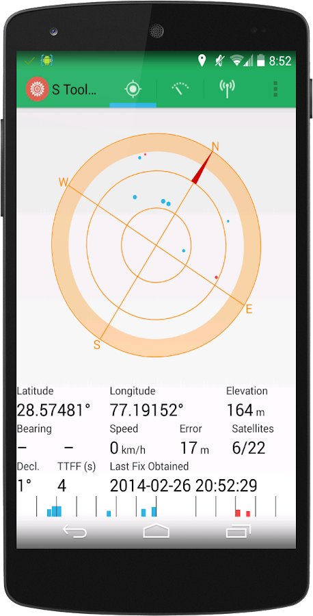 S Tools+ Sensors And Compass - screenshot