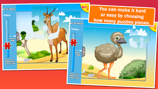 Preschool Puzzles: Animals - screenshot thumbnail
