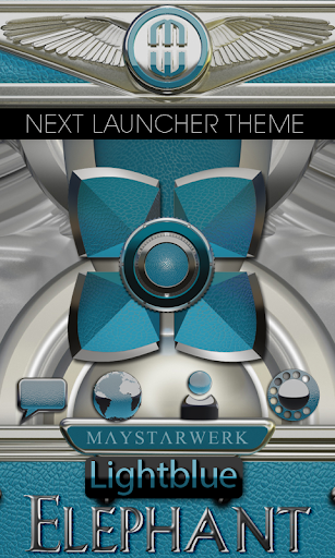 Next Launcher Theme Eleplant