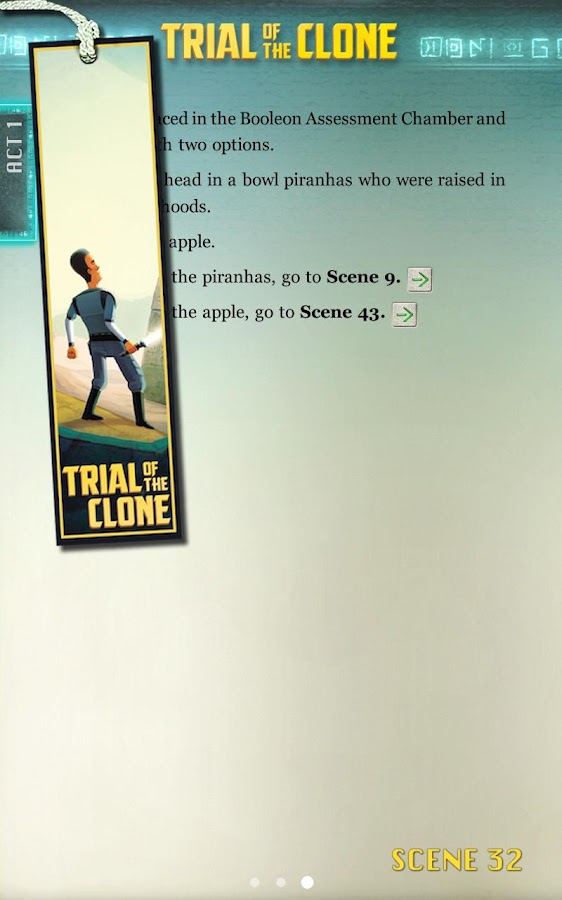 Trial of the Clone - screenshot