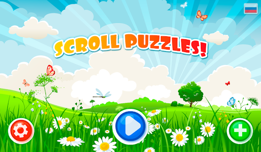 SCROLL PUZZLES for kids- screenshot thumbnail