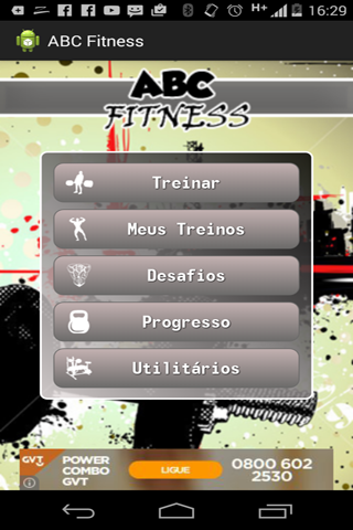 ABC Fitness- screenshot