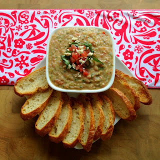 White Bean and Basil Spread