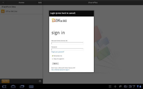SharePlus Lite: SharePoint App - screenshot thumbnail