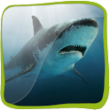 Shark Jaws in 3D icon