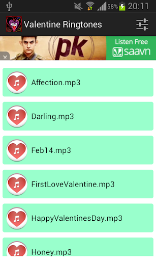 Valentine Ringtones