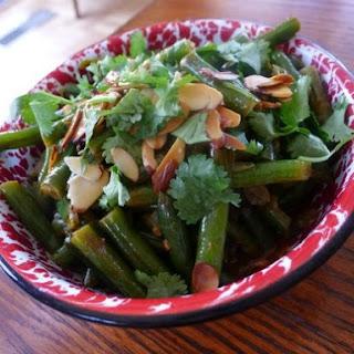The Occasional Vegetarian's Bihari Green Beans Masala
