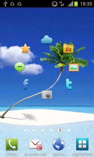 Social Live Wallpaper