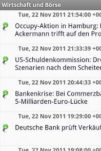 Wirtschaft und Börse - screenshot thumbnail