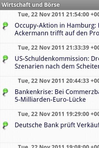 Wirtschaft und Börse - screenshot