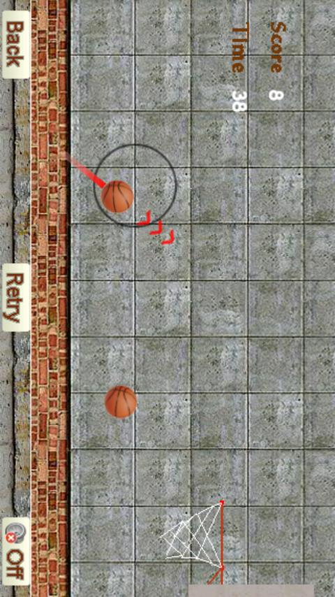 Basketball Racing - screenshot
