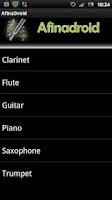 Screenshot of Tuner - Afinadroid