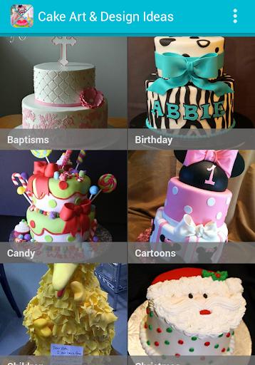 蛋糕藝術與設計理念