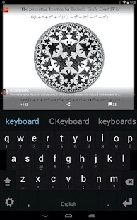 Multiling O Keyboard + emoji - screenshot thumbnail