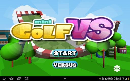 ミニゴルフ VS