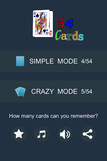 54 Cards