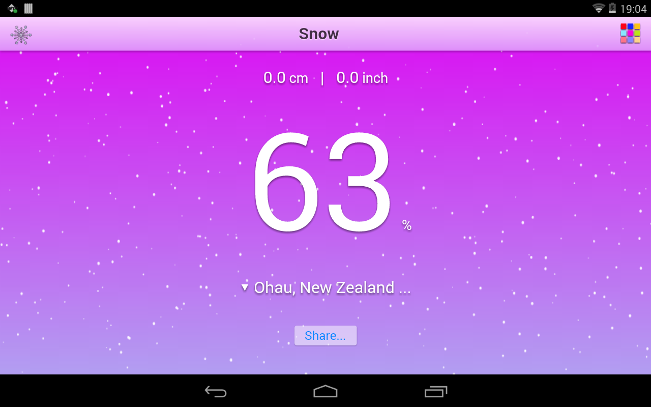 Snow- screenshot