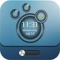 Bubble MagicLocker theme icon