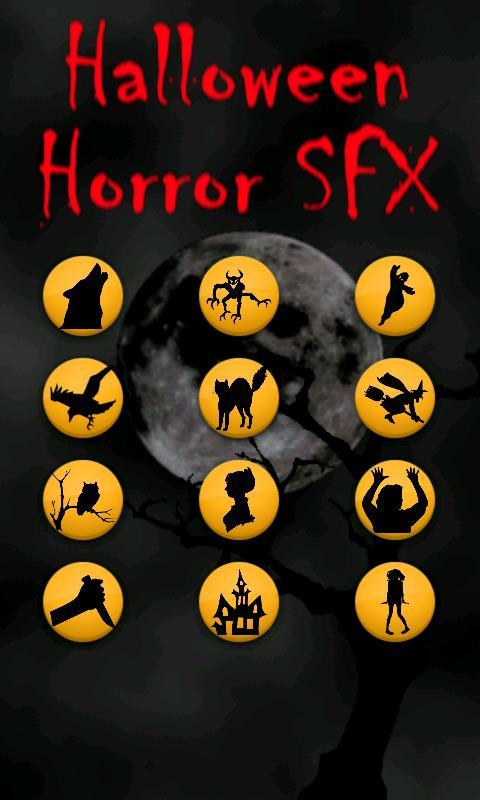 Halloween Horror Sounds- screenshot