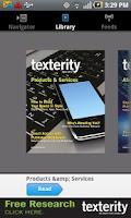 Screenshot of Texterity