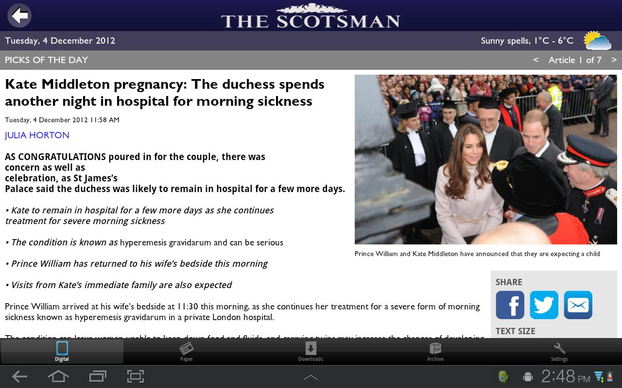 The Scotsman - screenshot