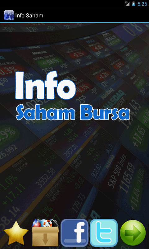 Info Saham Bursa Efek - screenshot