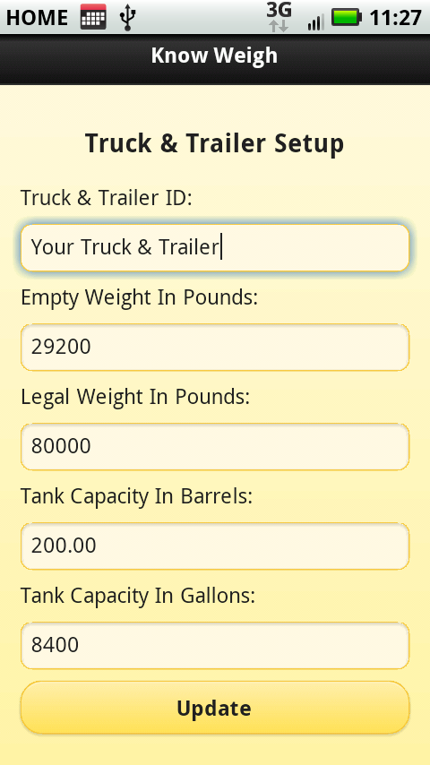 Know Weigh - screenshot