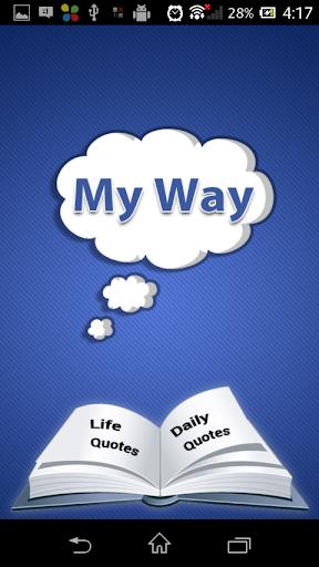 玩免費娛樂APP|下載My Way app不用錢|硬是要APP