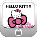 Sweet Pink Bow Screen Lock icon