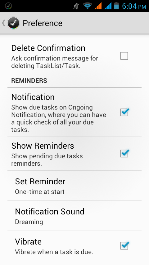 GoTasks - Google Tasks App- screenshot