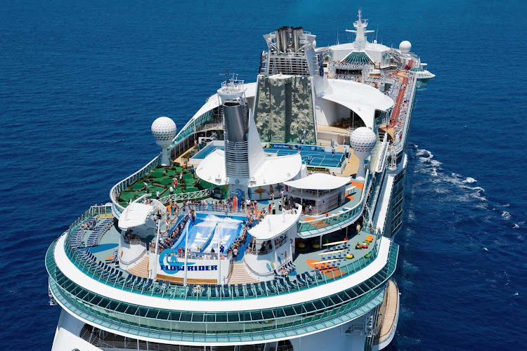 Liberty Of The Seas Sports Area Offers Plenty Of Fun In