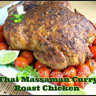 Thai Massaman Curry Roast Chicken
