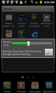 Speaker Boost - screenshot thumbnail