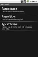 Screenshot of Menzy