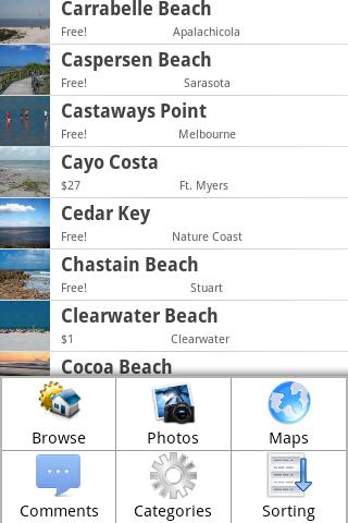 Florida's Best Beaches - screenshot