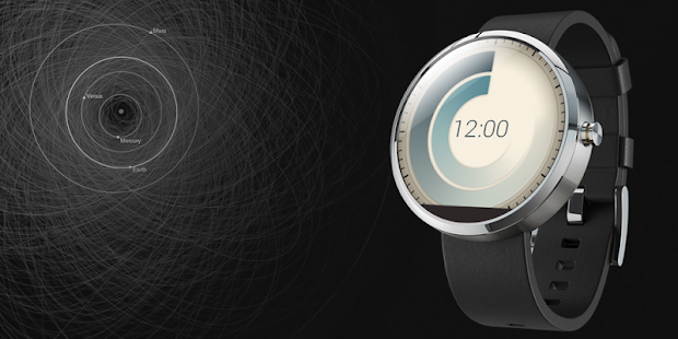 Orbits Watchface for Moto 360