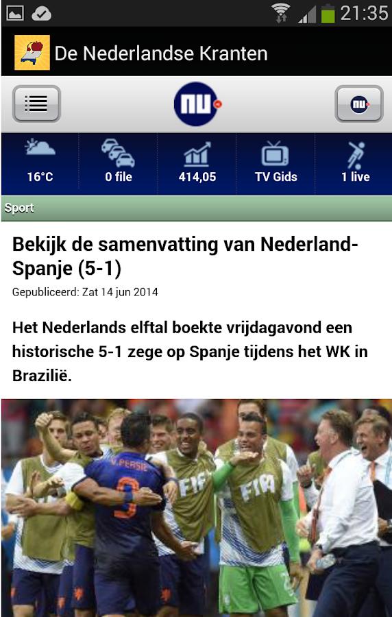 De Nederlandse Kranten - screenshot