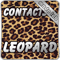 Leopard GO Contacts theme