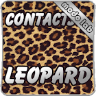 Leopard GO Contacts theme icon