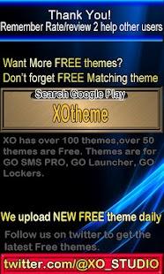 Brown Metal Theme for GO SMS- screenshot thumbnail