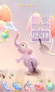 دانلود پوسته فانتزی Elephant GO Super Theme v1.0