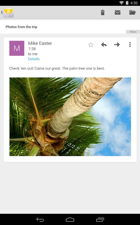 Email - screenshot