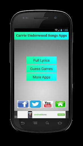 Carrie Underwood Songs