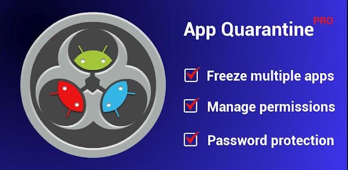App Quarantine Pro ROOT/FREEZE