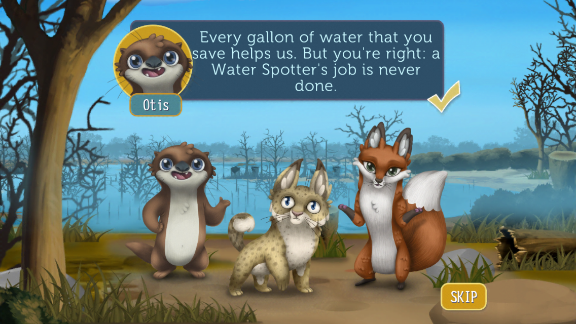 Water4Otter- screenshot