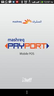 Mashreq PAYPORT screenshot