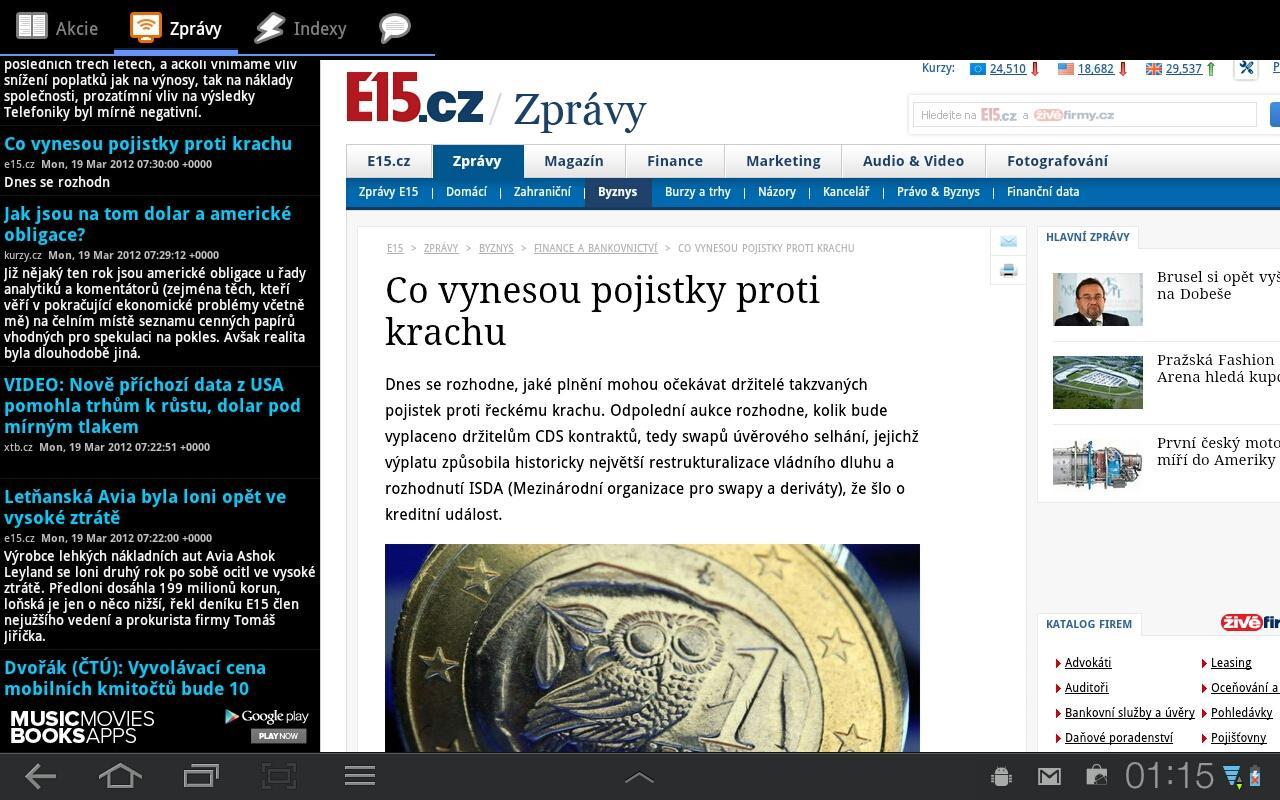 akcie cz online www free video cz