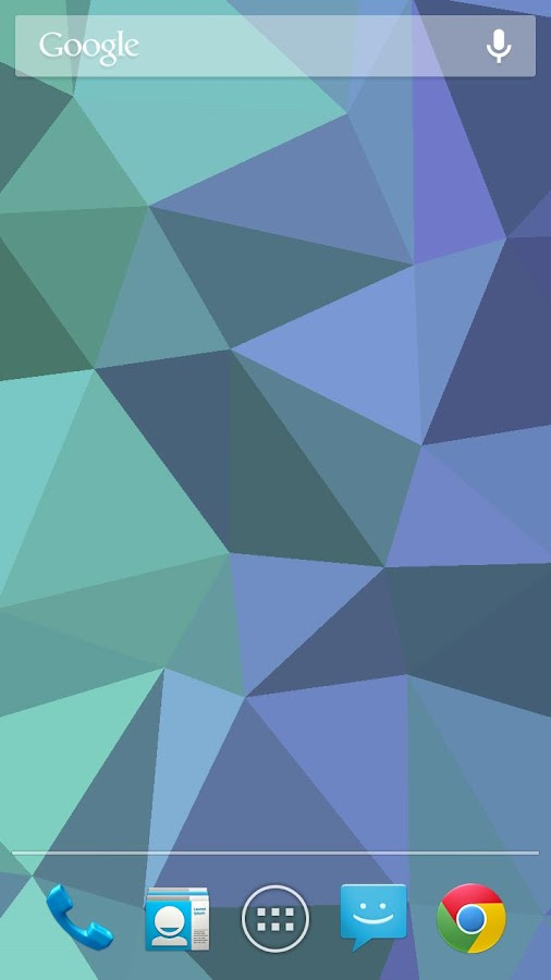 Nexus Triangles LWP - screenshot