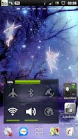 Screenshot of Fairy Sparkle Night Forest LWP